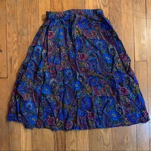 Vintage Gypsy skirt.